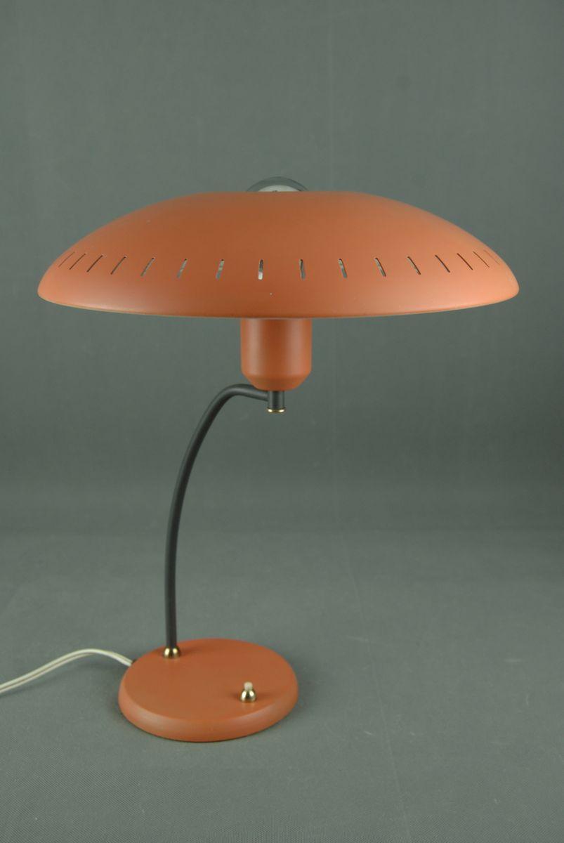 Lampada da tavolo vintage di louis kalff per philips anni - Lampada da tavolo philips ...