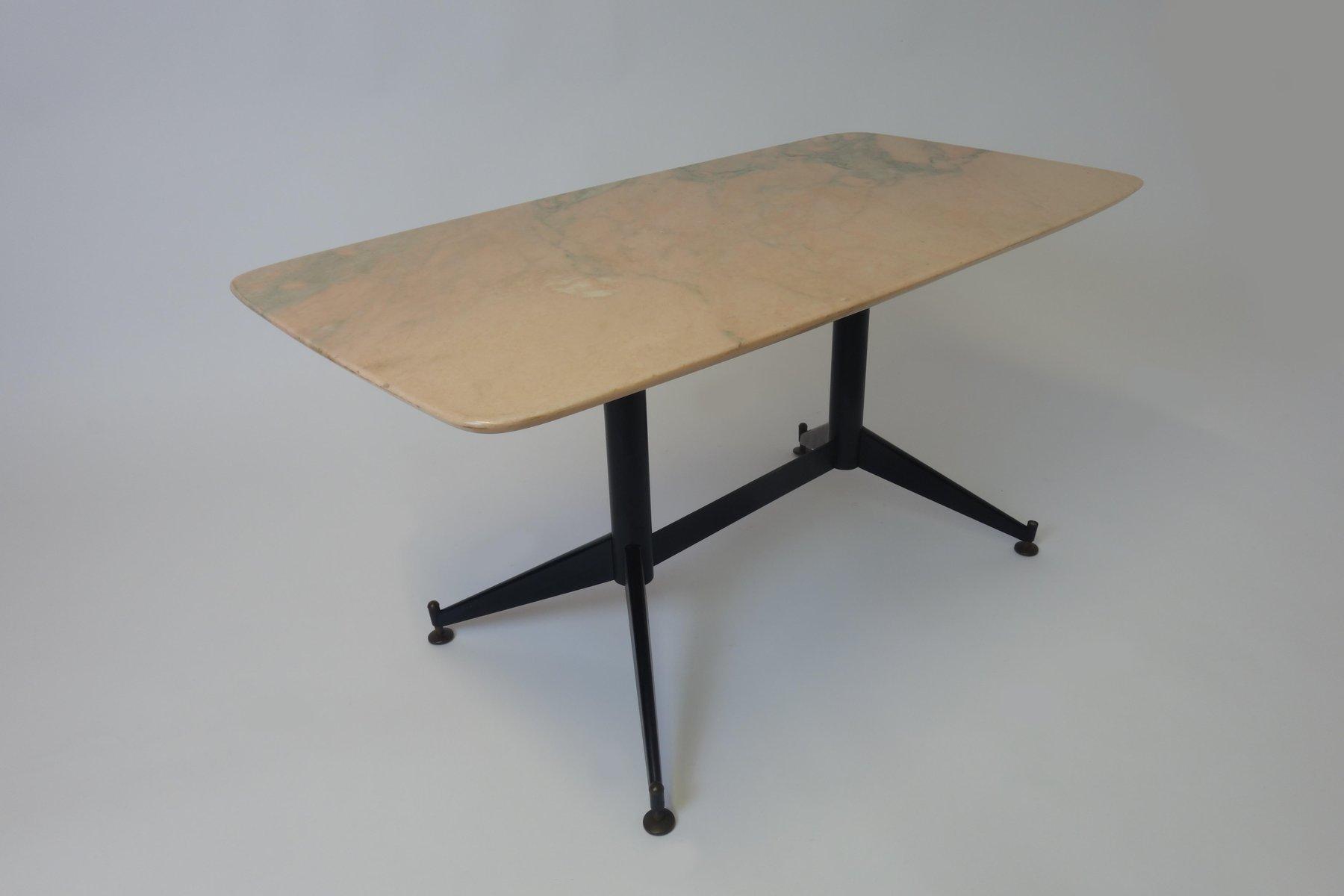 italienischer marmor beistelltisch 1960er bei pamono kaufen. Black Bedroom Furniture Sets. Home Design Ideas