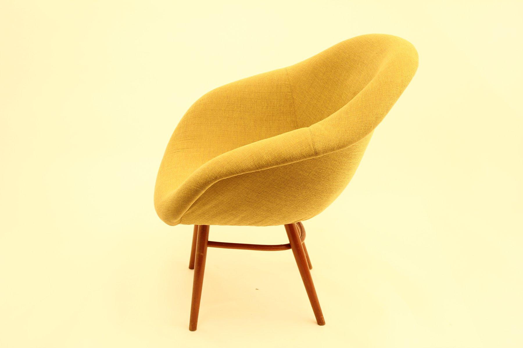 Fiberglass Shell Chair, 1960s