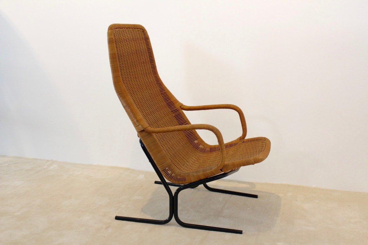 modell 514 sessel aus korbgeflecht von dirk van sliedregt bei pamono kaufen. Black Bedroom Furniture Sets. Home Design Ideas
