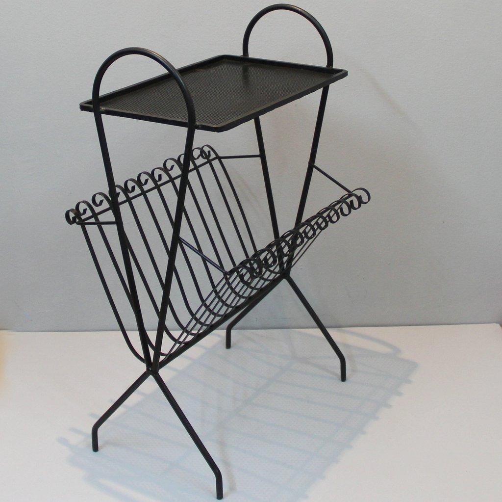 franz sischer zeitungsst nder mit ablage 1940er bei pamono kaufen. Black Bedroom Furniture Sets. Home Design Ideas