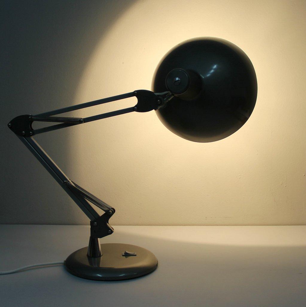 lampada da tavolo industriale spagna anni 39 60 in vendita On lampada da ufficio anni 60