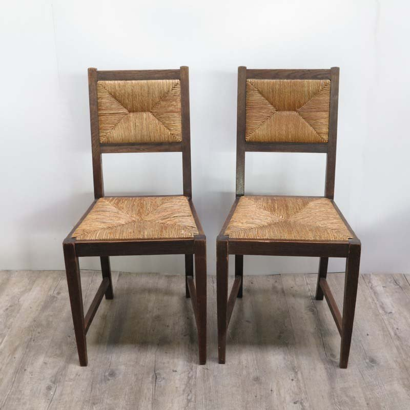 deutsche jugendstil raffia st hle 1920er 4er set bei. Black Bedroom Furniture Sets. Home Design Ideas