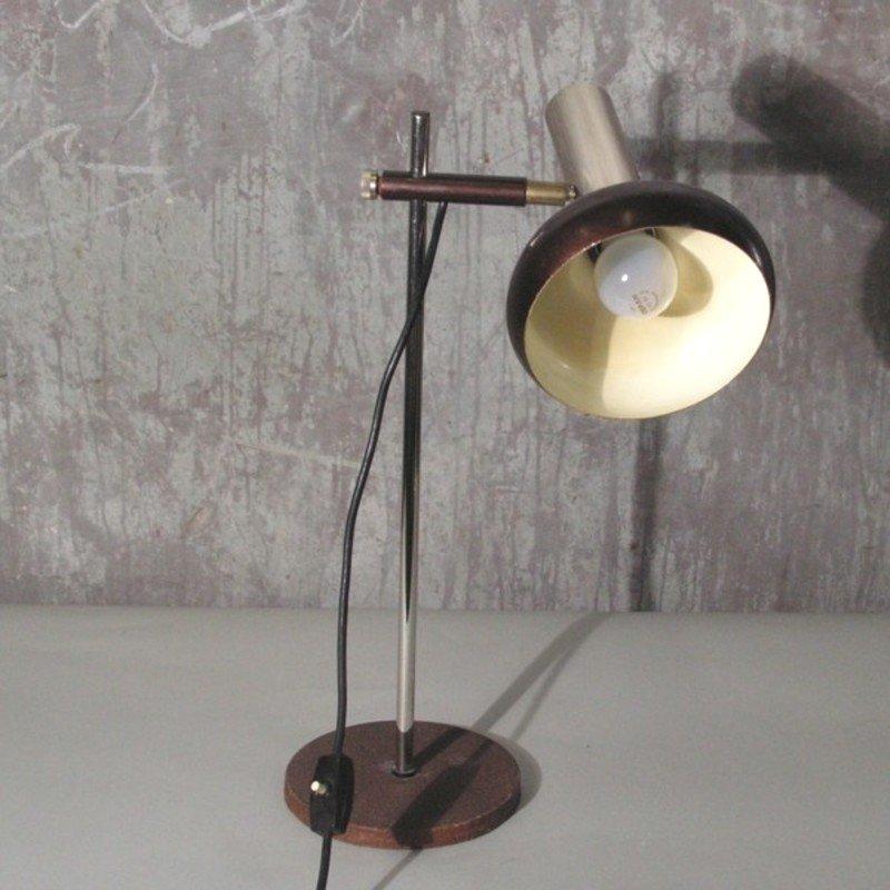 Lampada da tavolo vintage regolabile di iwc germania - Lampada da tavolo vintage ...