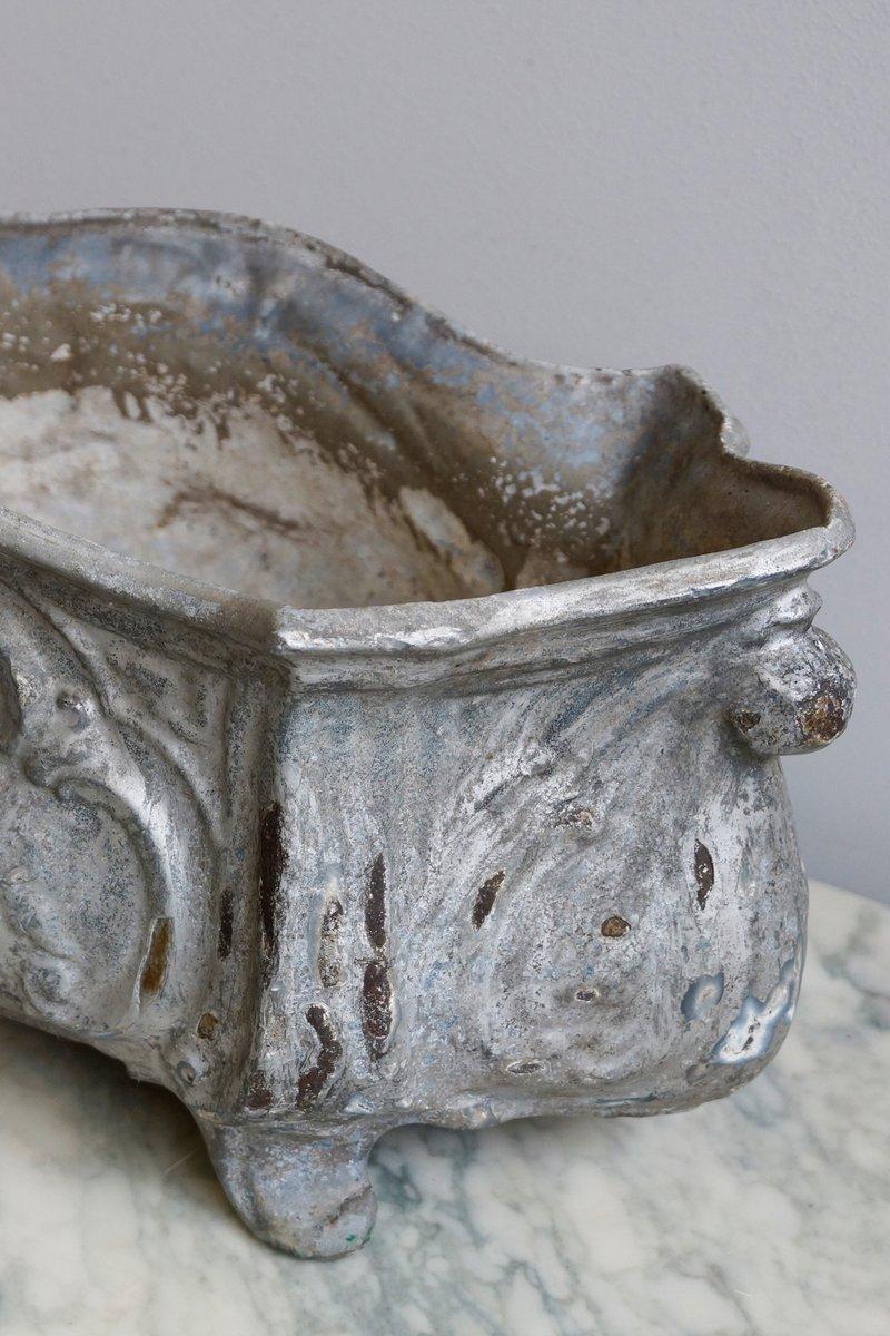 Porte pot antique en fer forg en vente sur pamono for Prix porte en fer forge