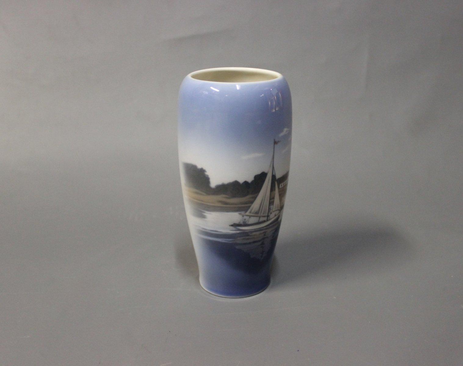 Danish harbor motif vase from royal copenhagen 1980s for sale at danish harbor motif vase from royal copenhagen 1980s reviewsmspy