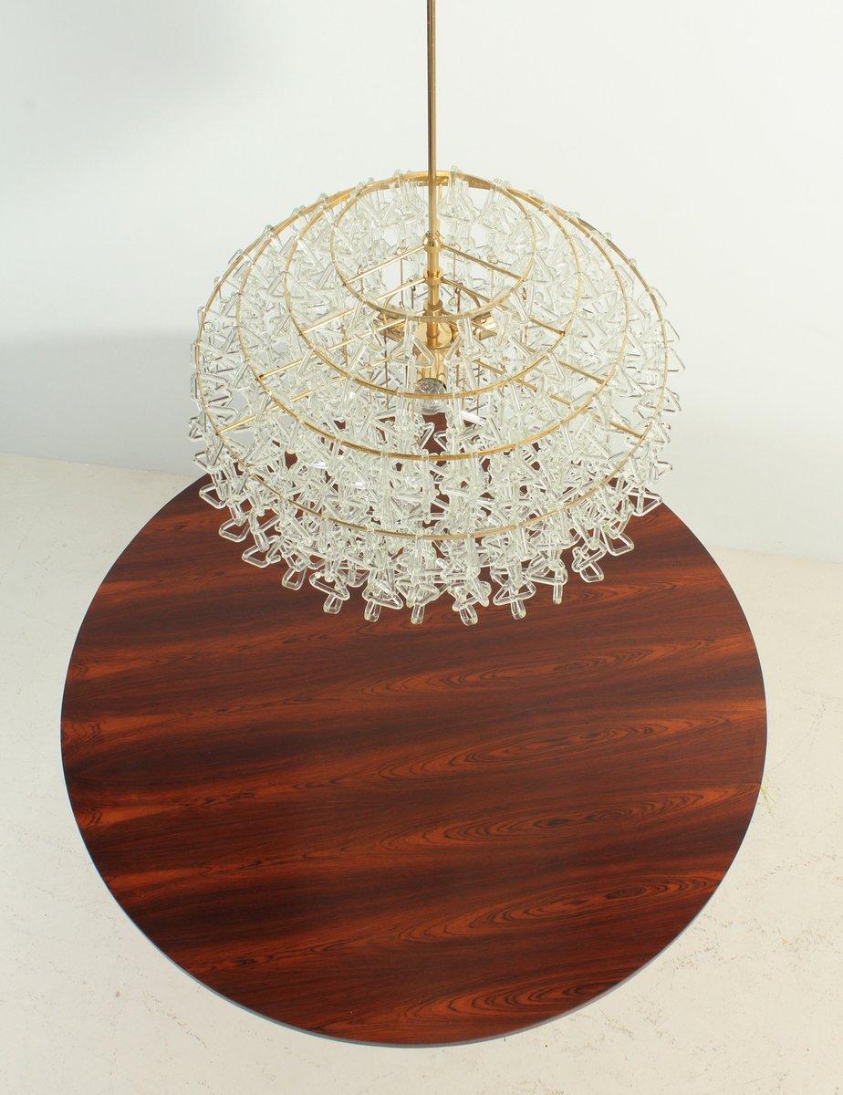 italienischer vintage glas kronleuchter 1970er bei pamono kaufen. Black Bedroom Furniture Sets. Home Design Ideas