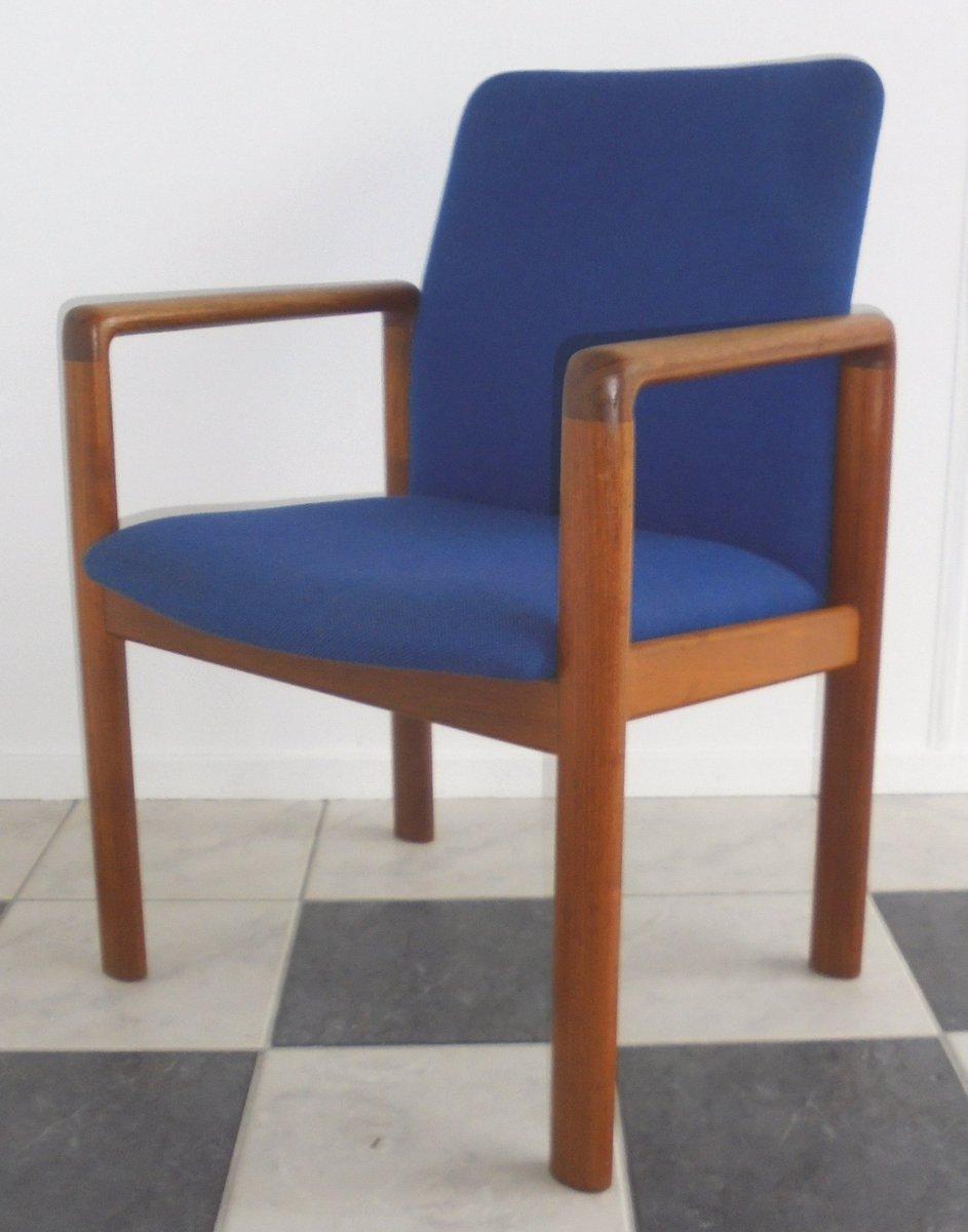 d nischer teak stuhl von schou andersen 1960er bei pamono kaufen. Black Bedroom Furniture Sets. Home Design Ideas