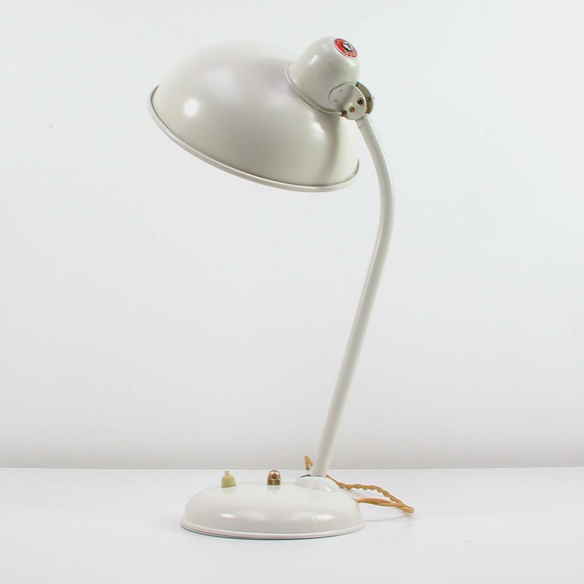 vintage industrial bauhaus desk lamp from helo for sale at. Black Bedroom Furniture Sets. Home Design Ideas