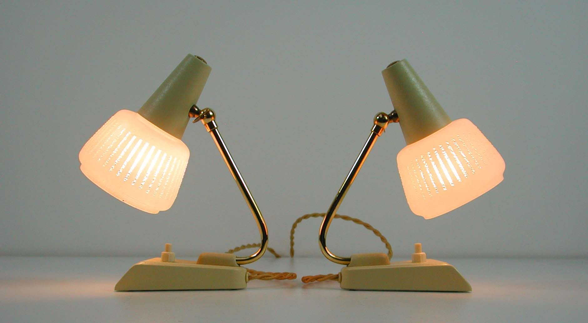 Vintage german table lamps 1950s set of 2 for sale at pamono aloadofball Gallery