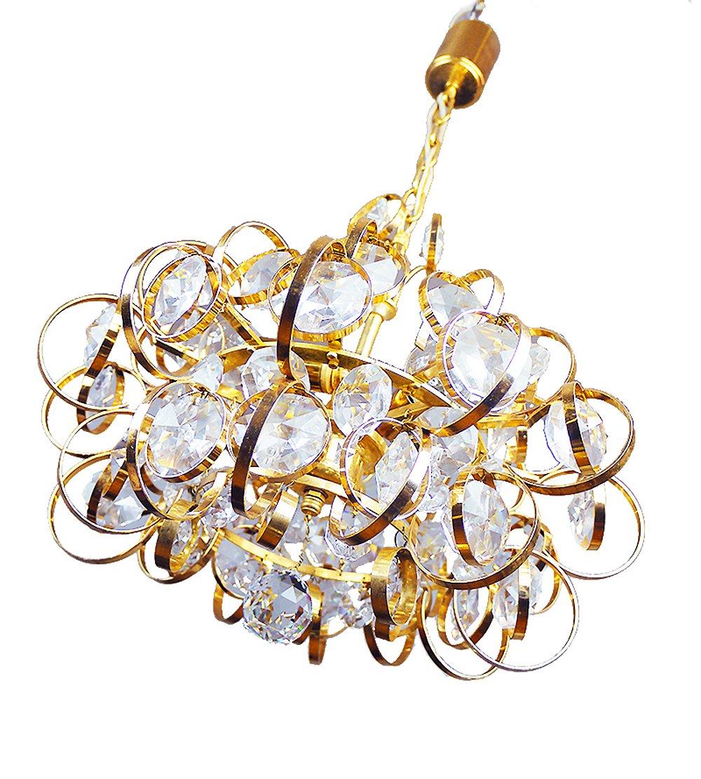 German sputnik gold plated crystal chandelier from palwa 1960s for german sputnik gold plated crystal chandelier from palwa 1960s arubaitofo Gallery