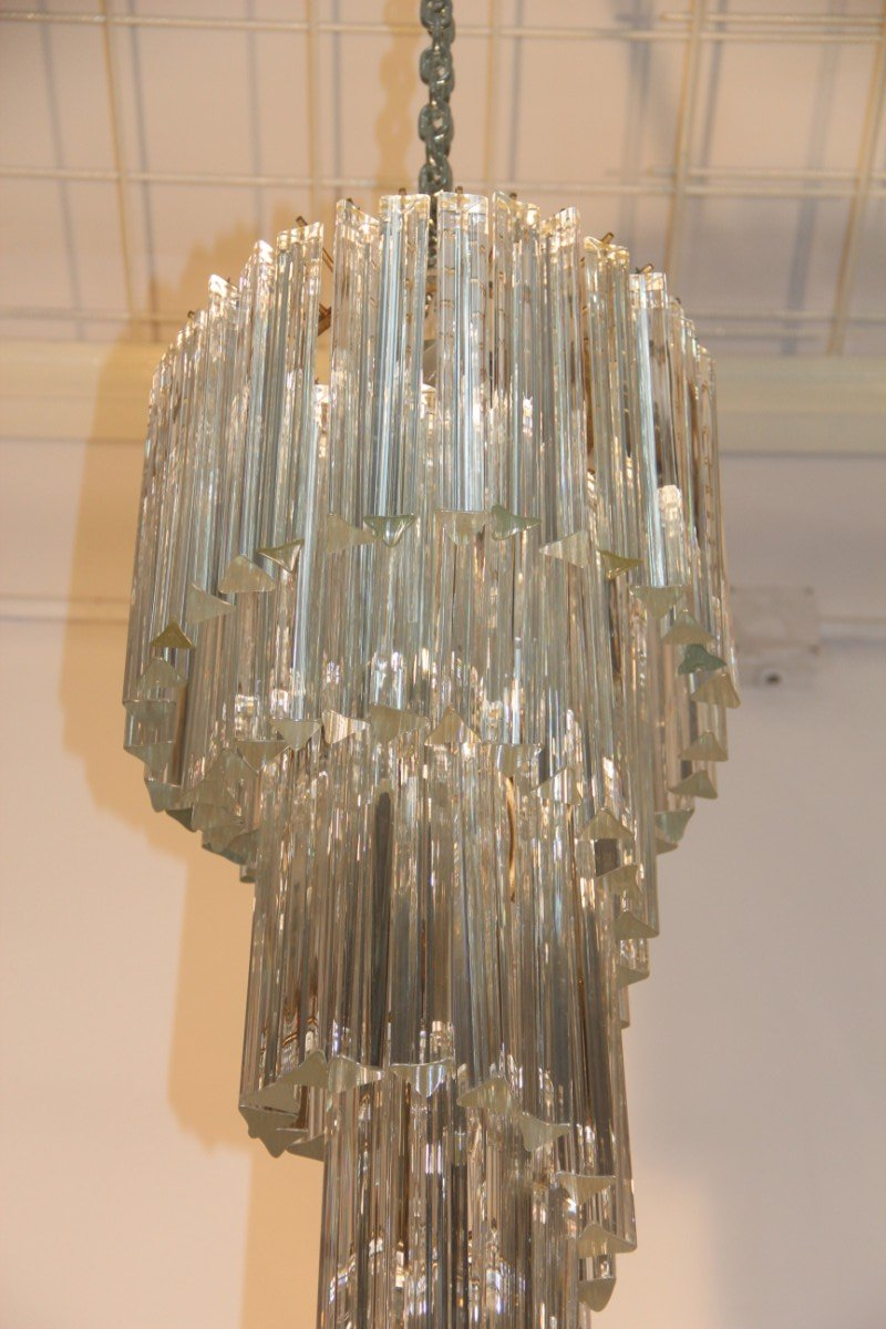Italian cascading chandelier from venini 1960s for sale at pamono arubaitofo Gallery