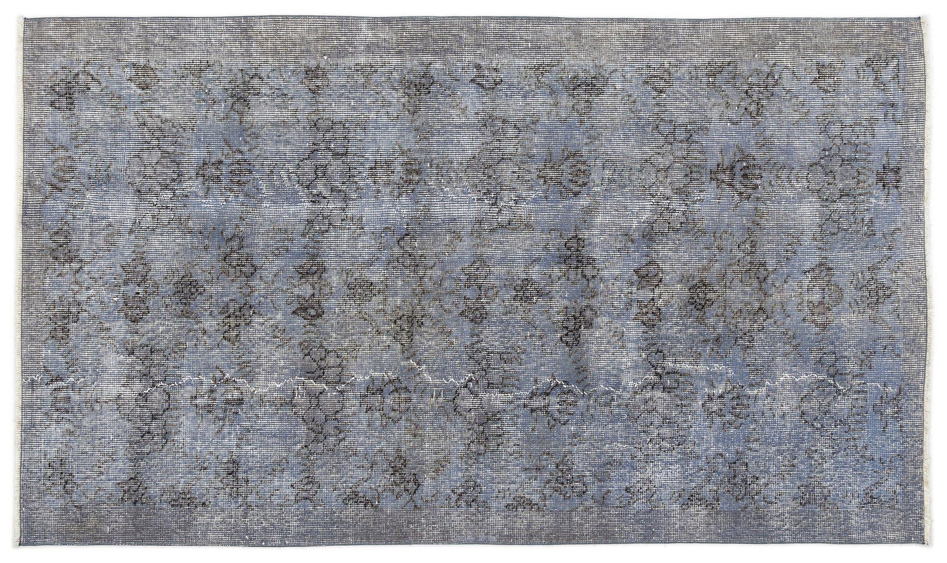 blau eingef rbter vintage teppich bei pamono kaufen. Black Bedroom Furniture Sets. Home Design Ideas