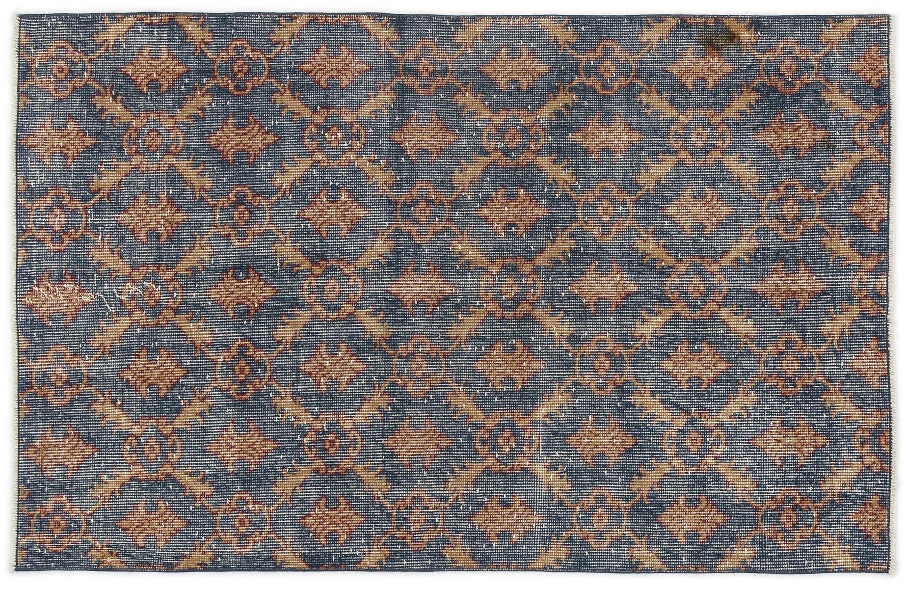 berf rbter vintage teppich mit muster bei pamono kaufen. Black Bedroom Furniture Sets. Home Design Ideas