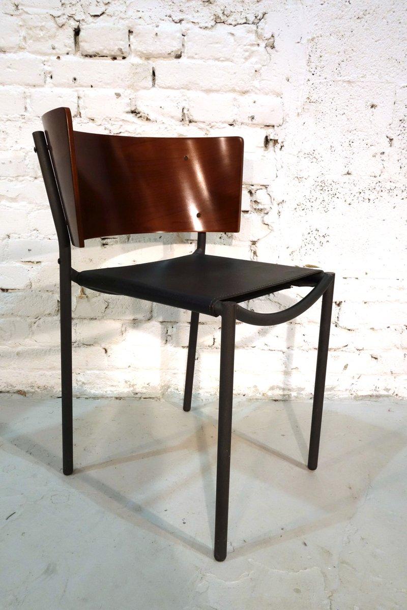 lila hunter st hle von philippe starck f r xo 1988 4er set bei pamono kaufen. Black Bedroom Furniture Sets. Home Design Ideas