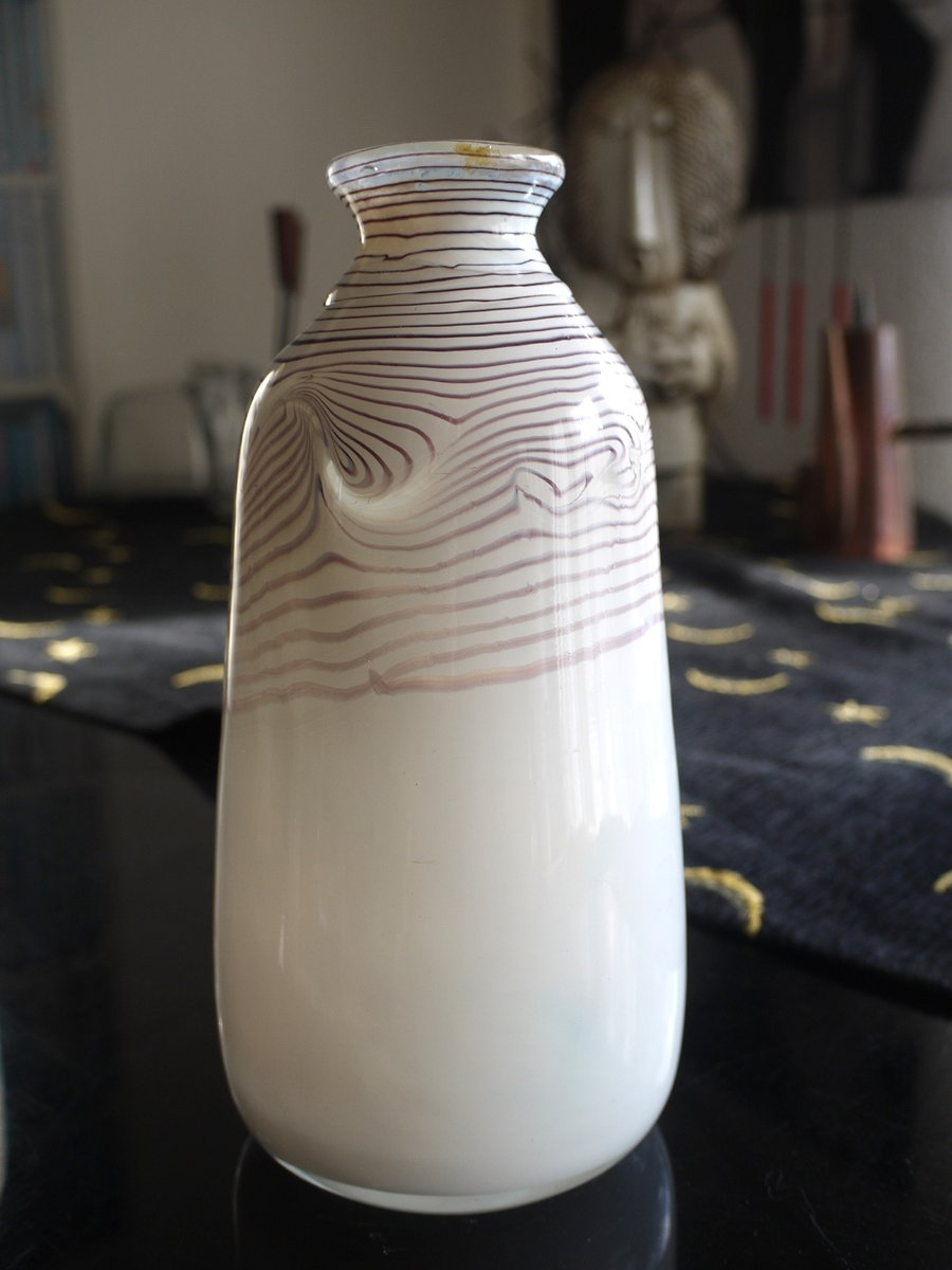 Vintage Studio Glass Vase From Erwin Eisch For Sale At Pamono
