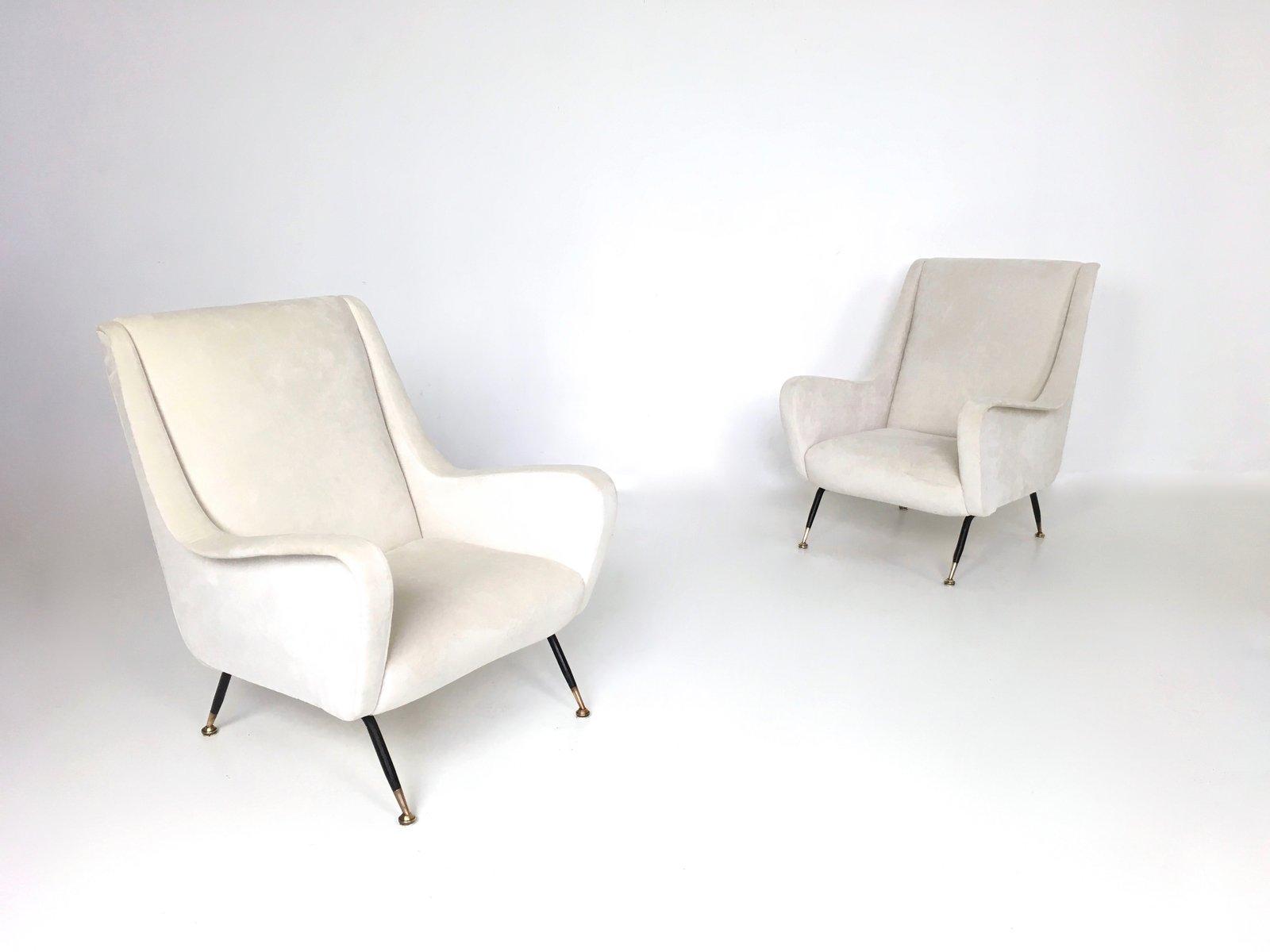 wei e sessel 1950er 2er set bei pamono kaufen. Black Bedroom Furniture Sets. Home Design Ideas