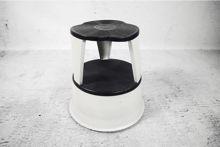 French Model Kik Step Stool By Marc Adet 1970s For Sale