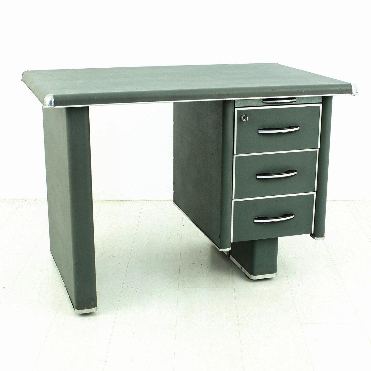 Vintage Metal Desk 1950s For Sale At Pamono