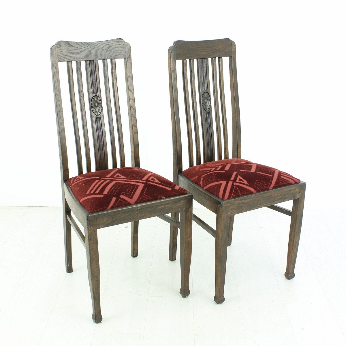 antique oak dining chairs for sale vintage oak dining chairs 1920s set of 2 for at pamono 9030