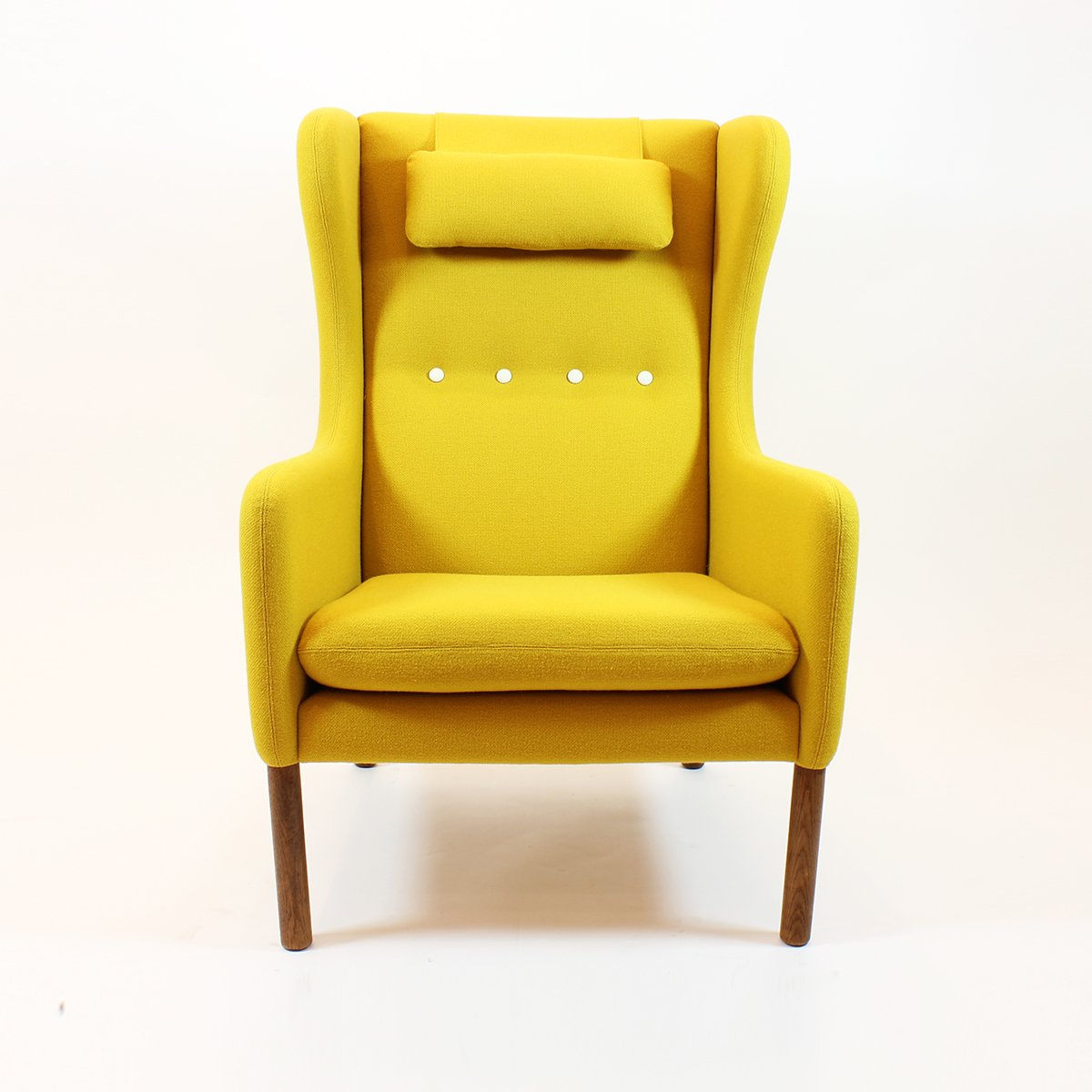 Yellow Scandinavian Mid Century Armchair For Sale At Pamono