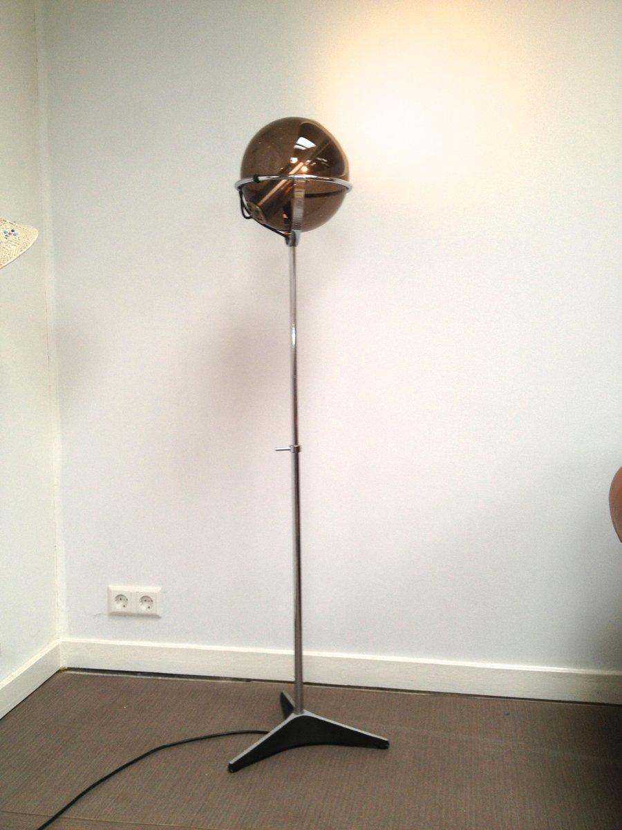 Globe floor lamp by frank ligtelijn for raak 1960s for sale at pamono aloadofball Choice Image