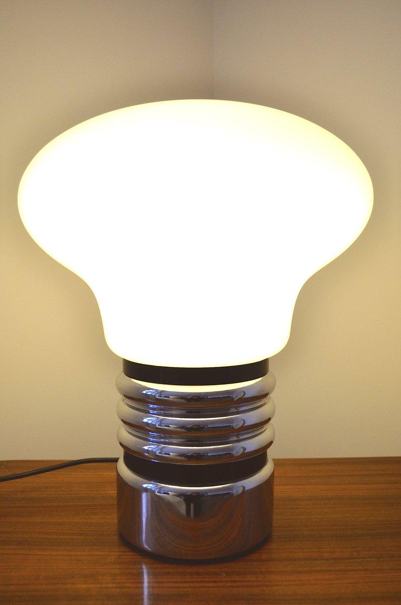 tischlampe in gl hbirnen form 1970er bei pamono kaufen. Black Bedroom Furniture Sets. Home Design Ideas