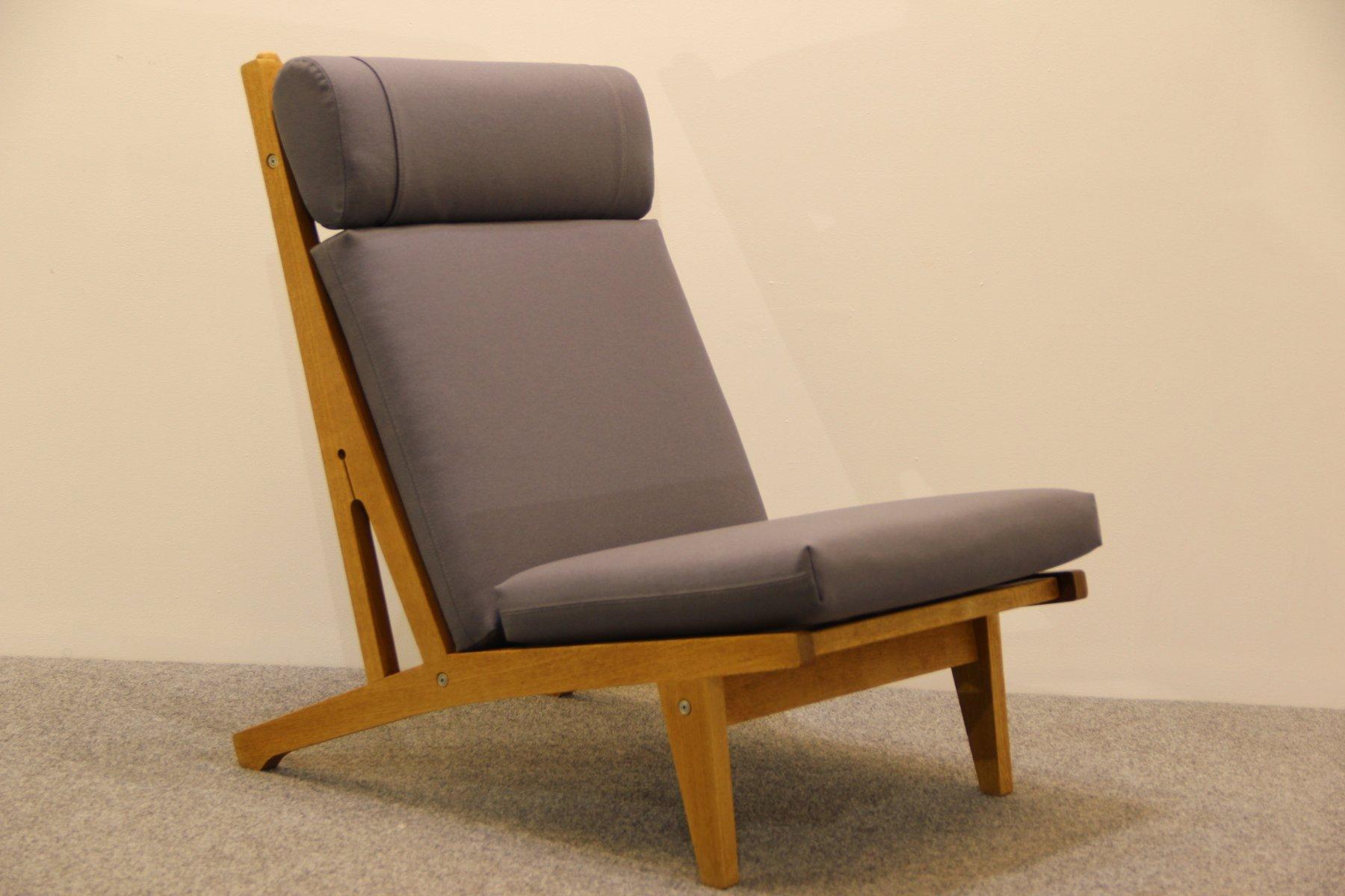 hans j wegner furniture. Danish Oak Lounge Chair By Hans J. Wegner For Getama, 1960s J Furniture