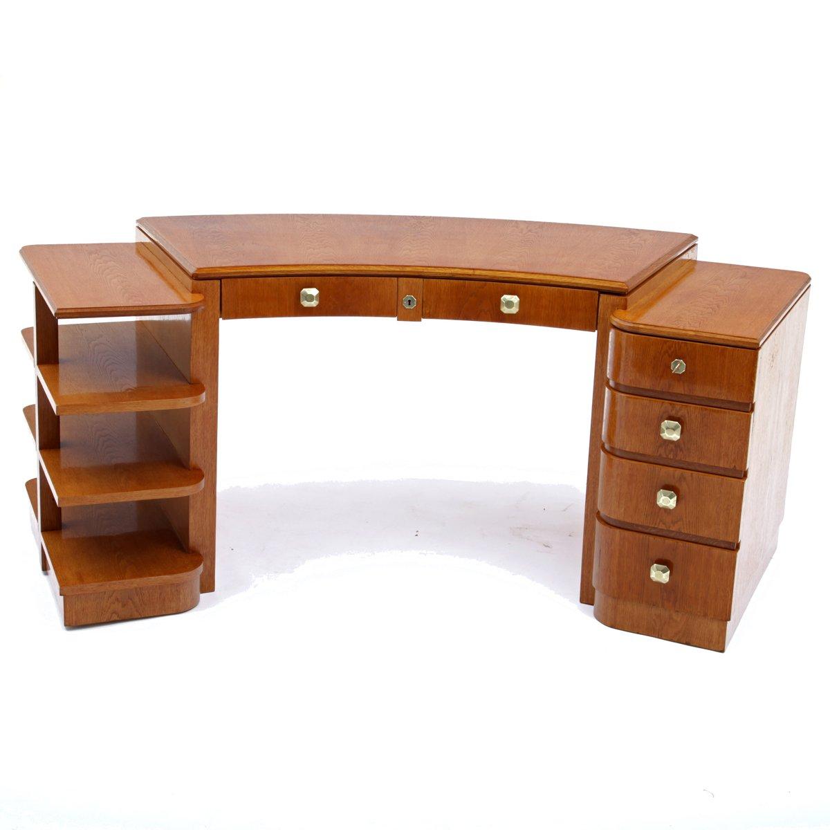 desk french shop at online desks curved pamono art deco