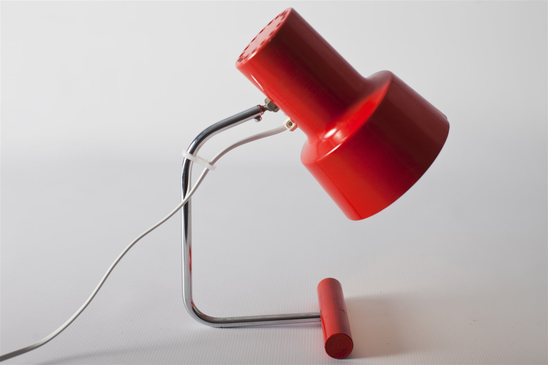 Red table lamp by josef hurka for napako 1960s for sale at pamono red table lamp by josef hurka for napako 1960s mozeypictures