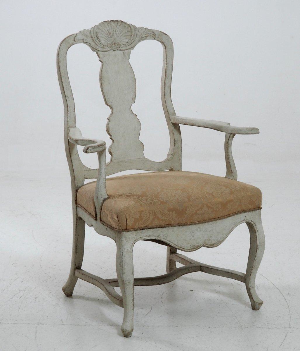 Skandinavischer Sessel antiker skandinavischer sessel im rokoko stil bei pamono kaufen
