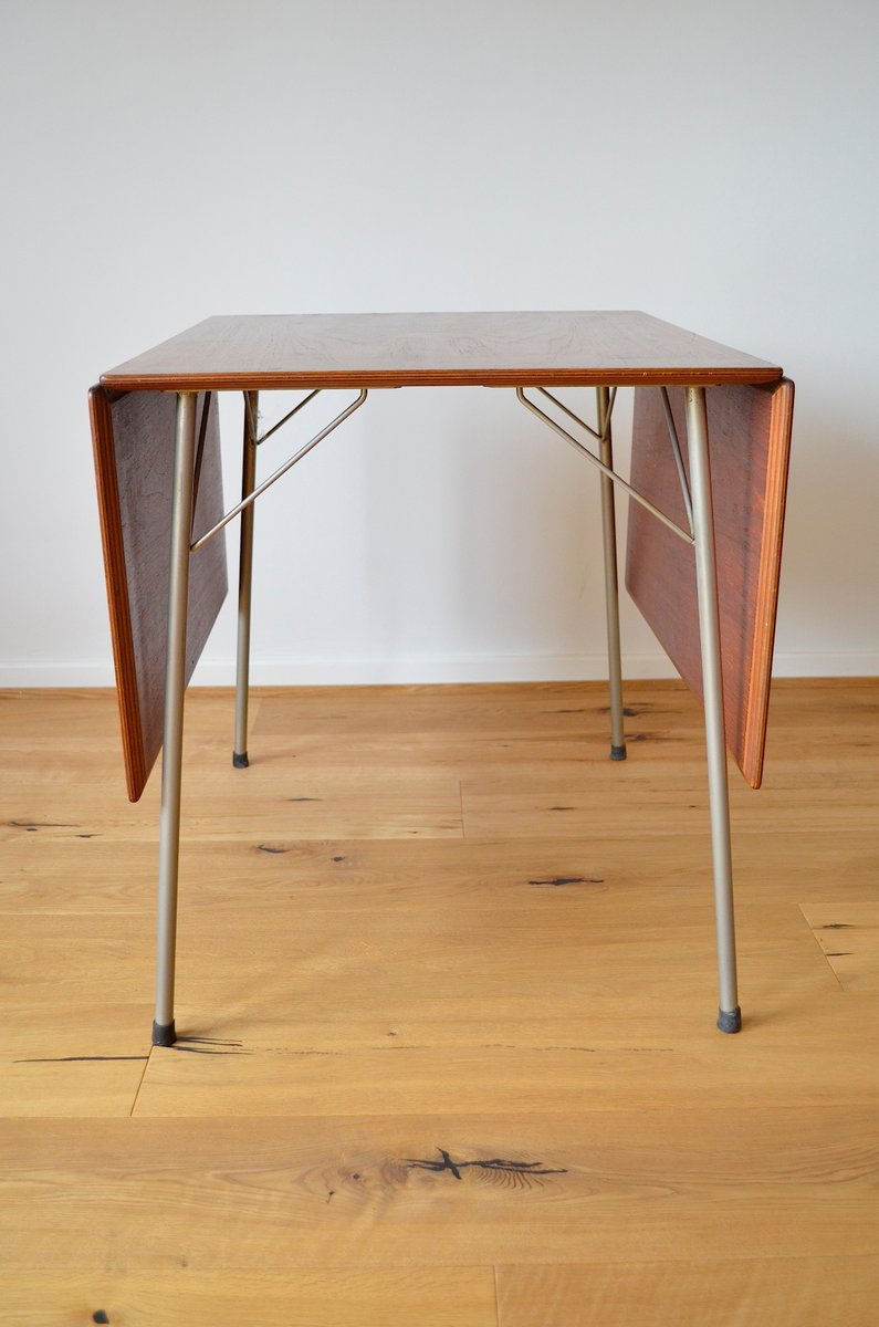 Danish folding model 3601 teak dining table by arne jacobsen for danish folding model 3601 teak dining table by arne jacobsen for fritz hansen 1950s watchthetrailerfo
