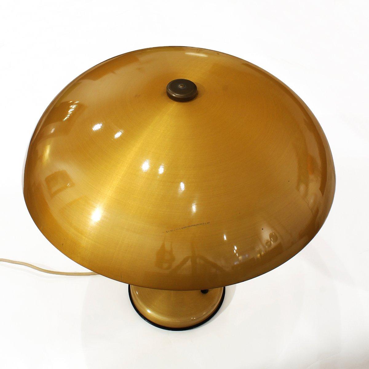 vintage messing holz tischlampe 1960er bei pamono kaufen. Black Bedroom Furniture Sets. Home Design Ideas