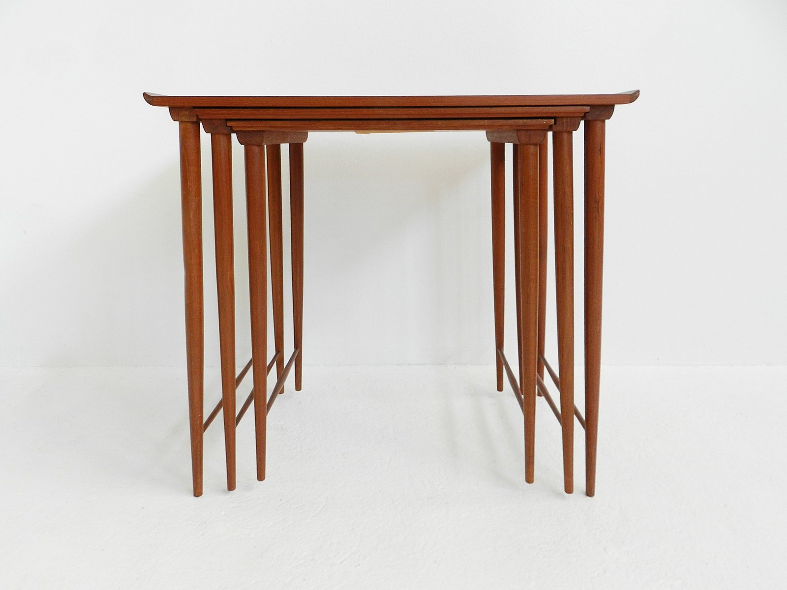 Mid Century Teak Nesting Tables By Grete Jalk Awesome Ideas