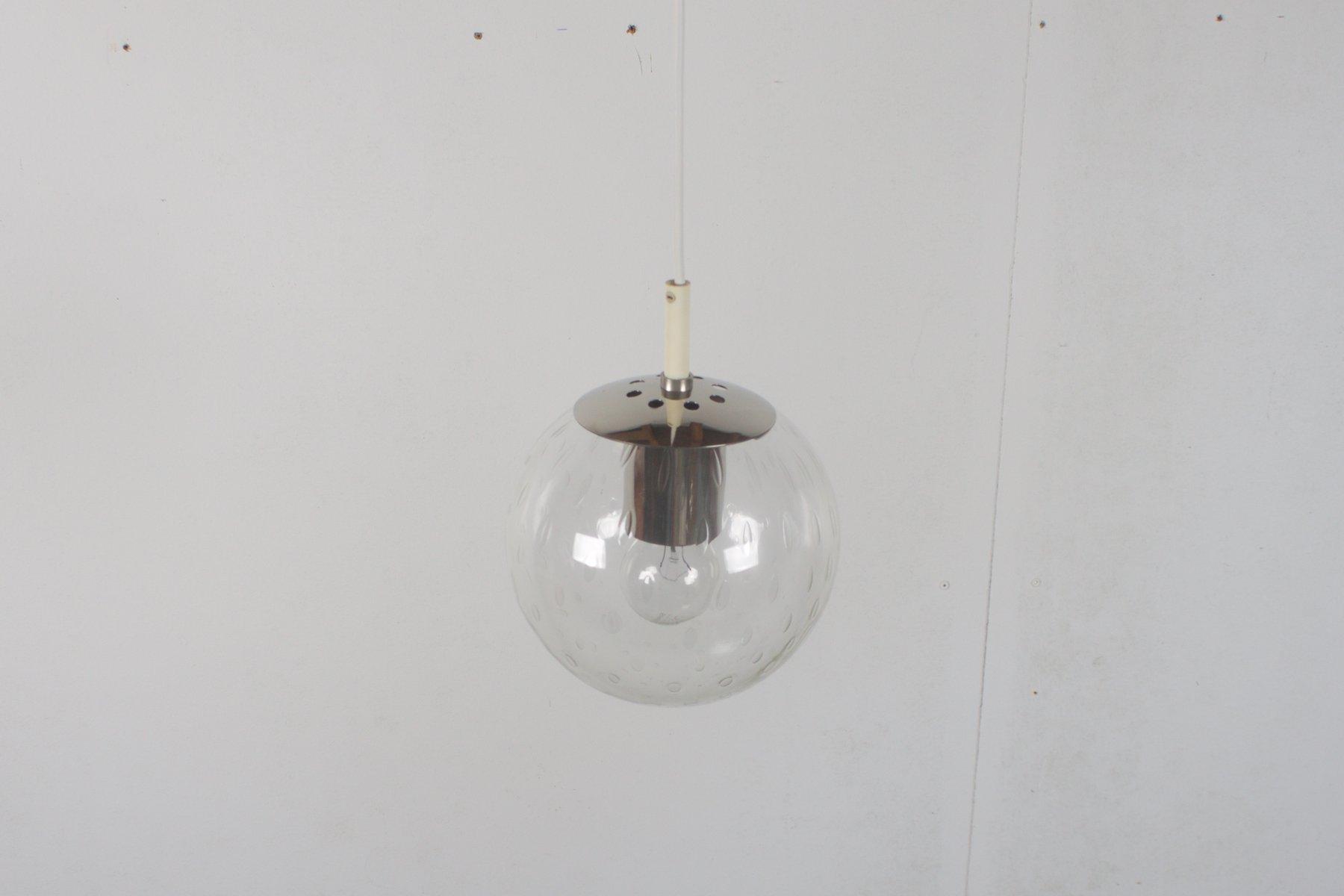 kleine licht drops h ngelampe von raak 1960er bei pamono kaufen. Black Bedroom Furniture Sets. Home Design Ideas
