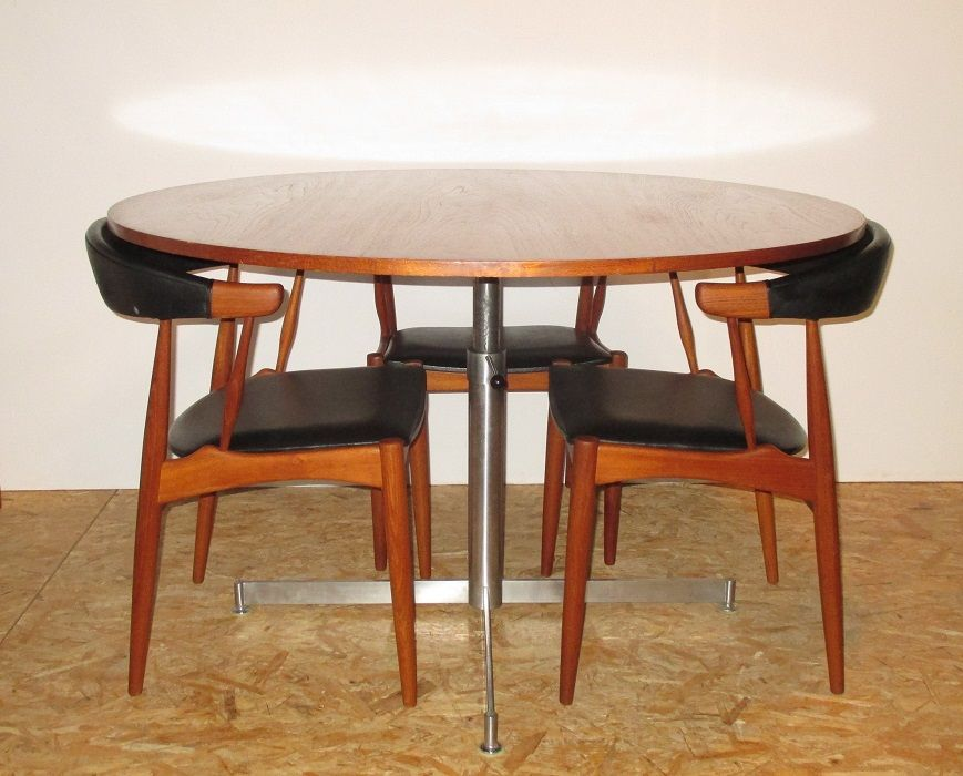 Danish Dining Chairs By Johannes Andersen For BRDR 1964 Set Of 4 Sale At Pamono
