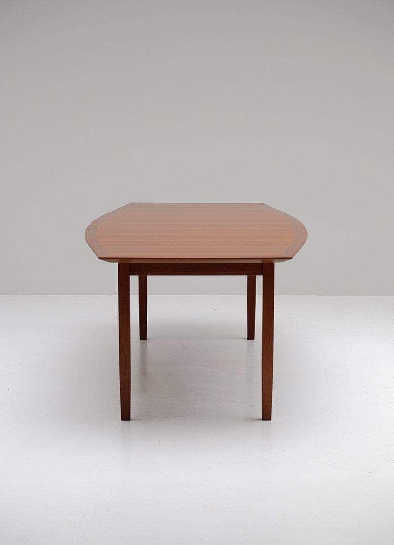 nussholz esstisch von florence knoll f r knoll bei pamono kaufen. Black Bedroom Furniture Sets. Home Design Ideas