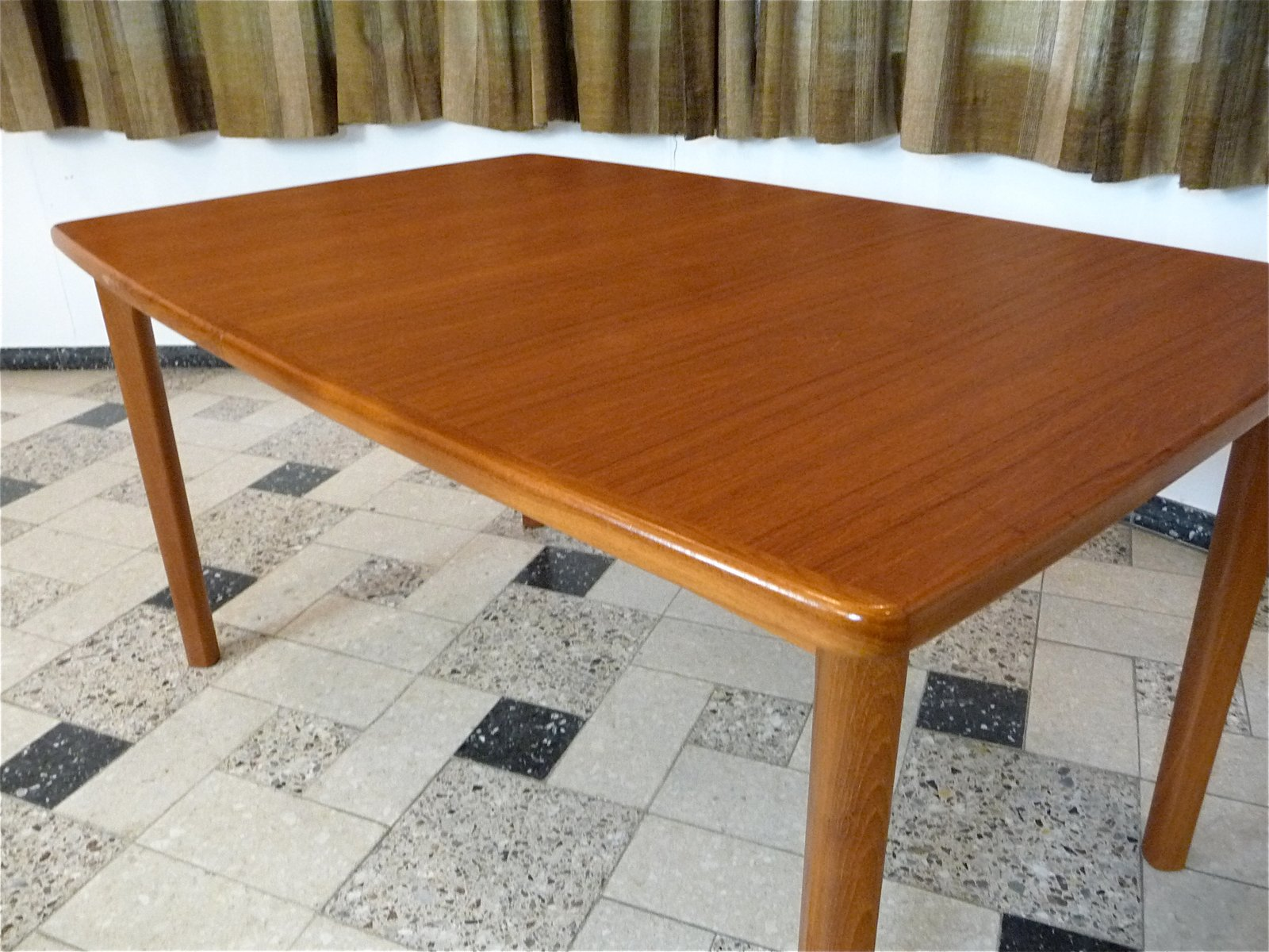 Danish Extending Teak Dining Table, 1970s For Sale At Pamono