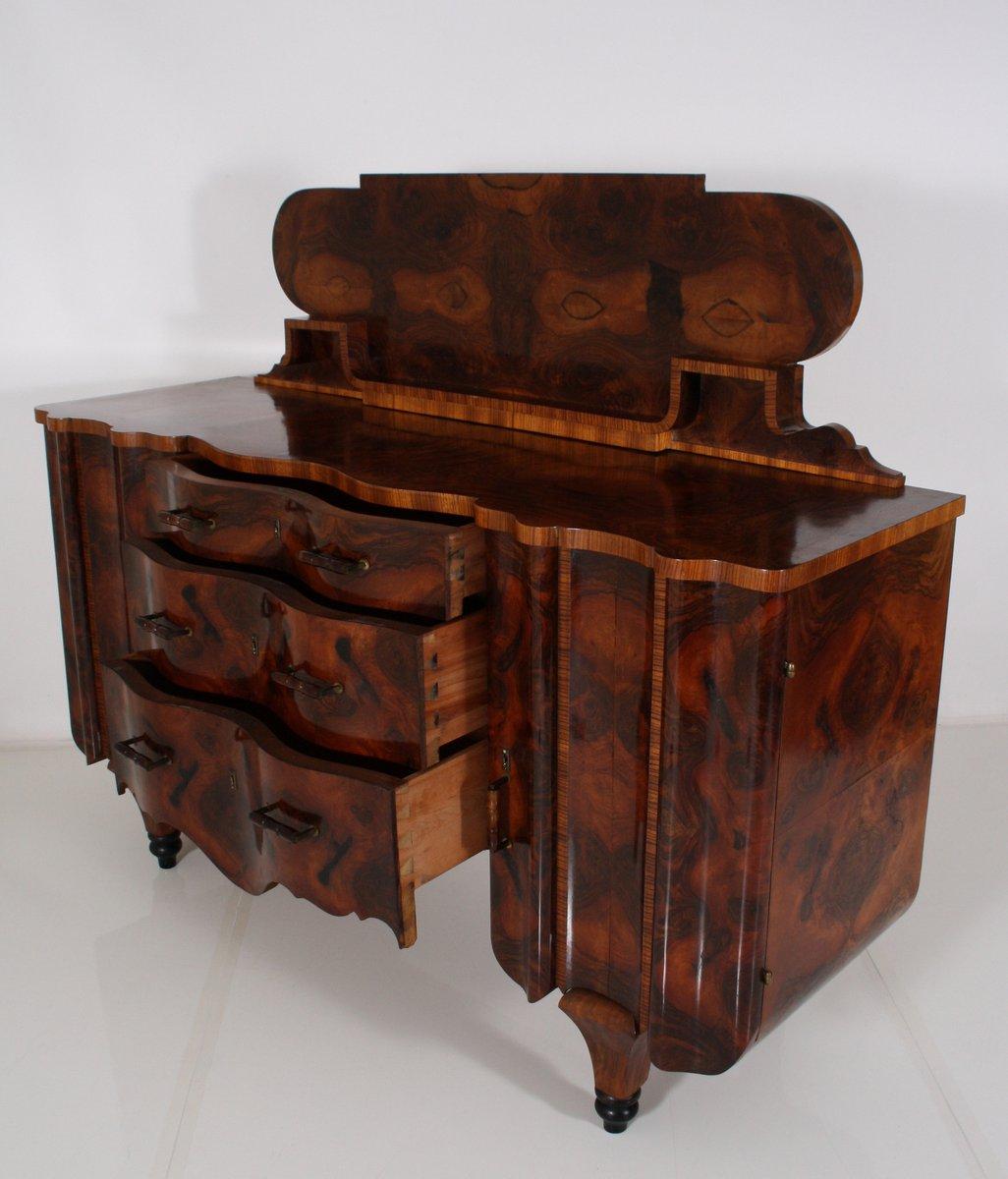 Buffet Vintage Art D Co En Broussin Avec Tableau Noir En Vente Sur  # Buffet Vintage Suedois