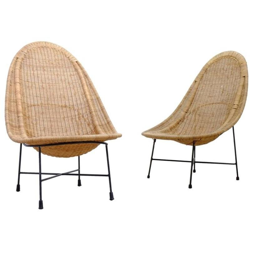 Swedish Stora Kraal Easy Chairs By Kerstin Hörlin Holmquist For Nordiska  Kompaniet, 1960s, Set Of 2