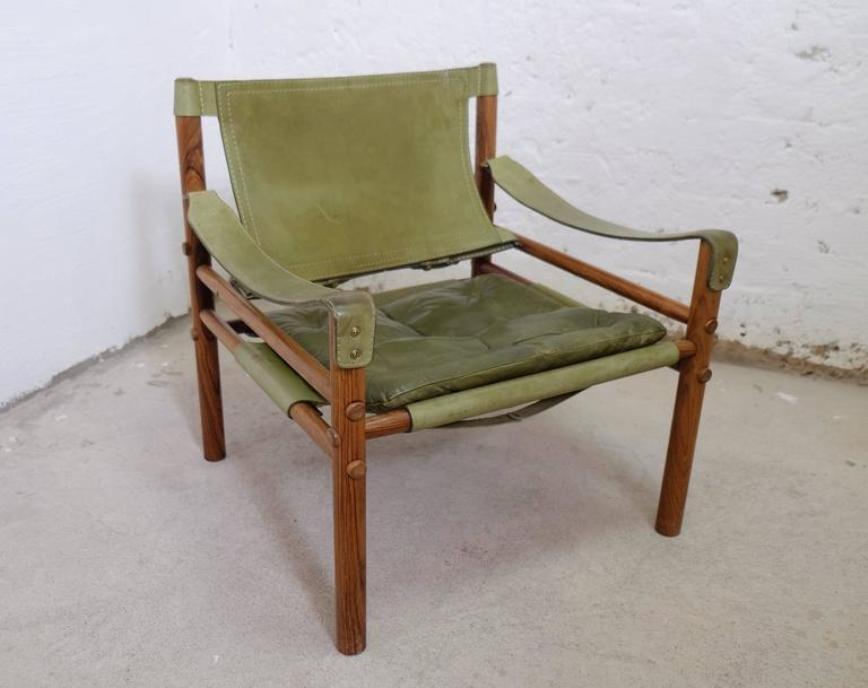 gr ne vintage sirocco sessel von arne norell bei pamono kaufen. Black Bedroom Furniture Sets. Home Design Ideas