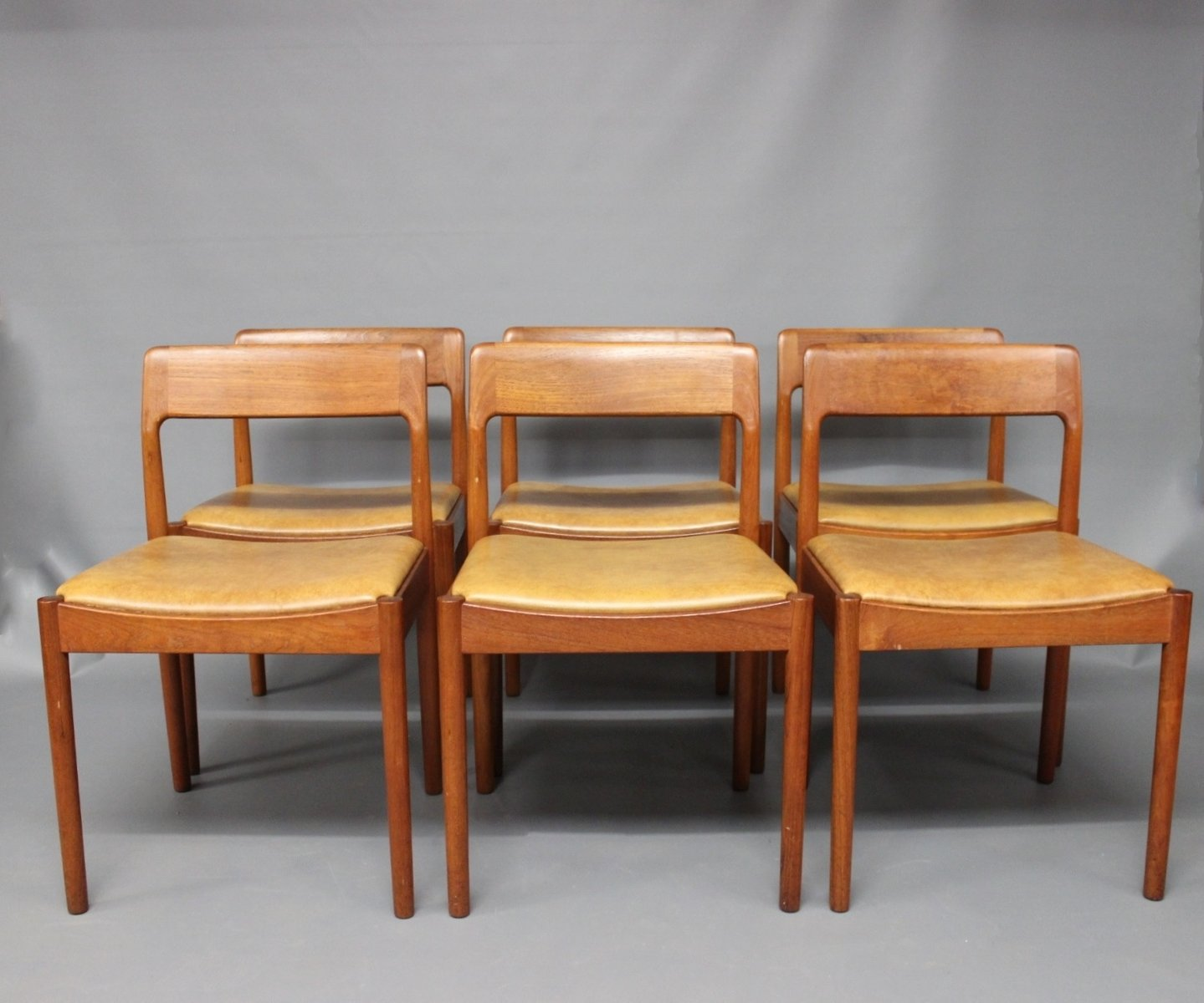 Dining Room Chairs By N.O. Møller For J.L. Møller, 1960s, Set Of 6