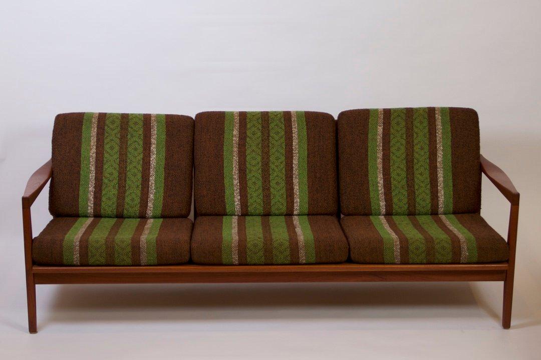 teakholz sofa sessel von svante skogh bei pamono kaufen. Black Bedroom Furniture Sets. Home Design Ideas