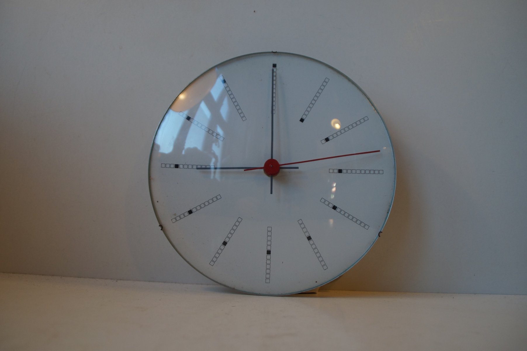 Inventory Bankers Wall Clock By Arne Jacobsen For Gefa