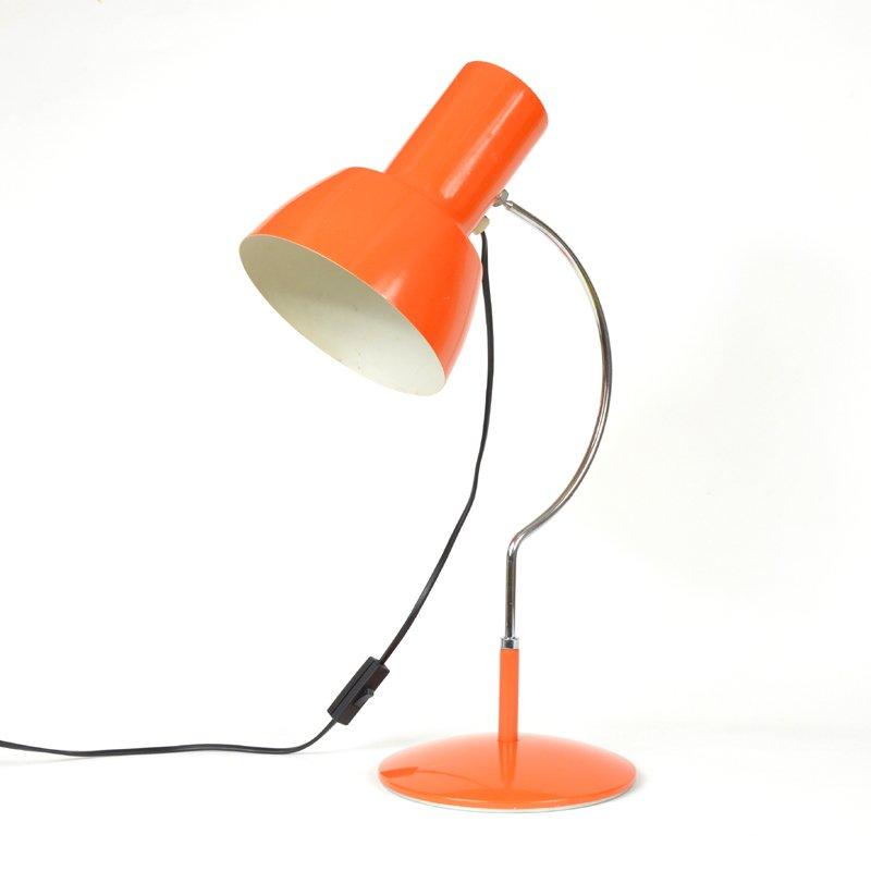 orange vintage lampe von napako bei pamono kaufen. Black Bedroom Furniture Sets. Home Design Ideas
