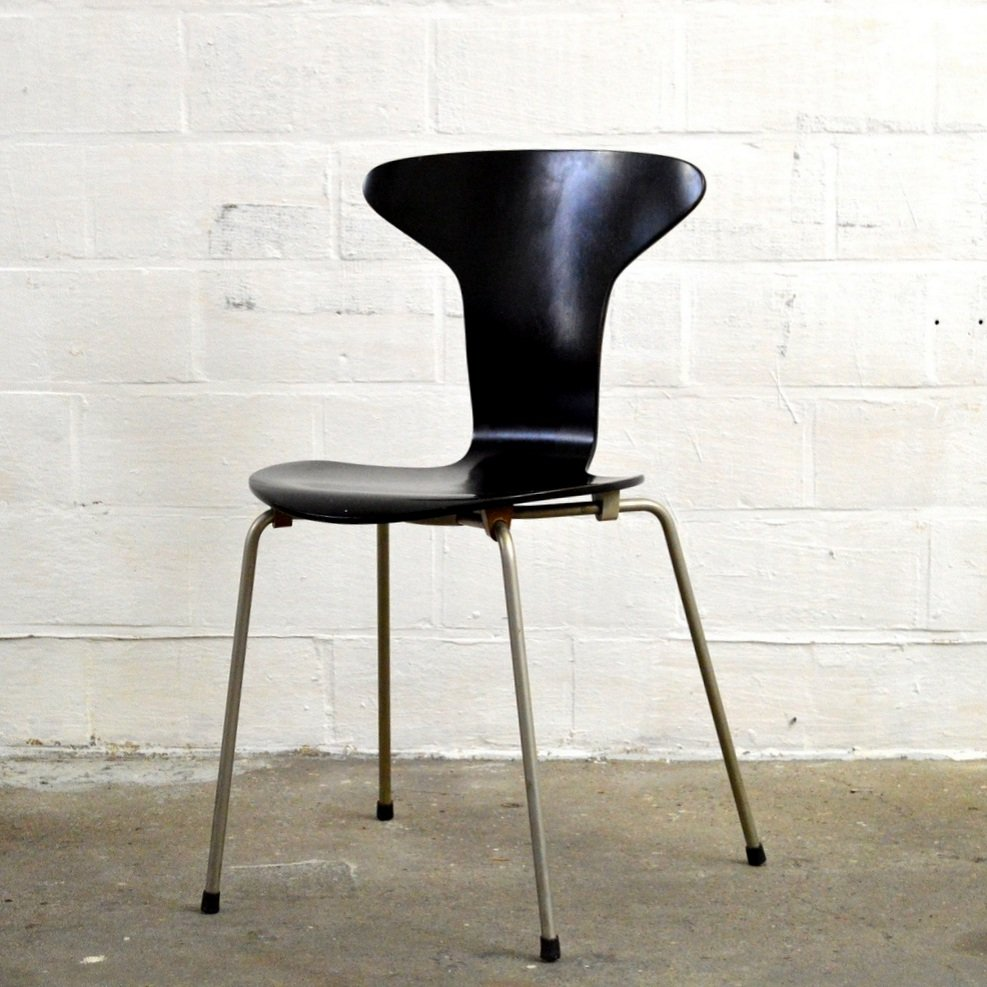 vintage 3105 mosquito chair by arne jacobsen for fritz hansen for sale at pamono. Black Bedroom Furniture Sets. Home Design Ideas