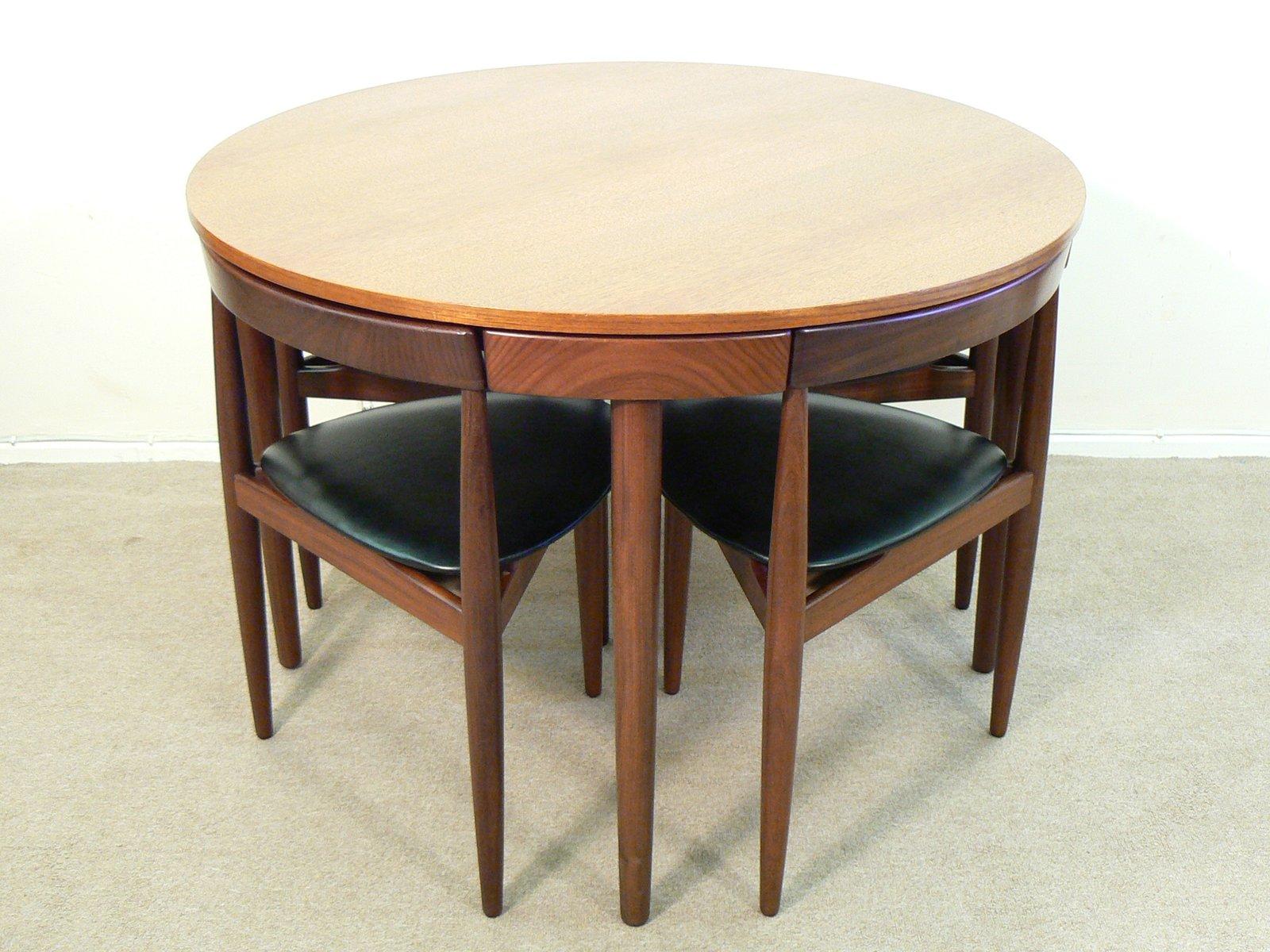 Dining Table Set By Hans Olsen For Frem Rojle, 1960s