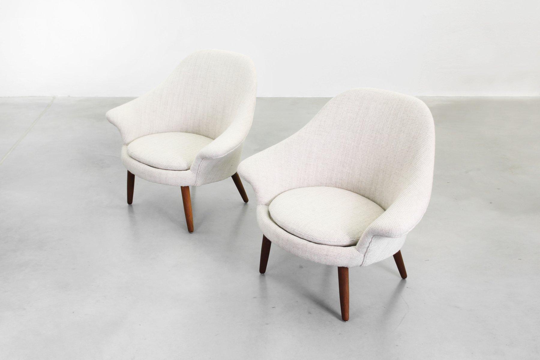 d nische sessel 1950 2er set bei pamono kaufen. Black Bedroom Furniture Sets. Home Design Ideas