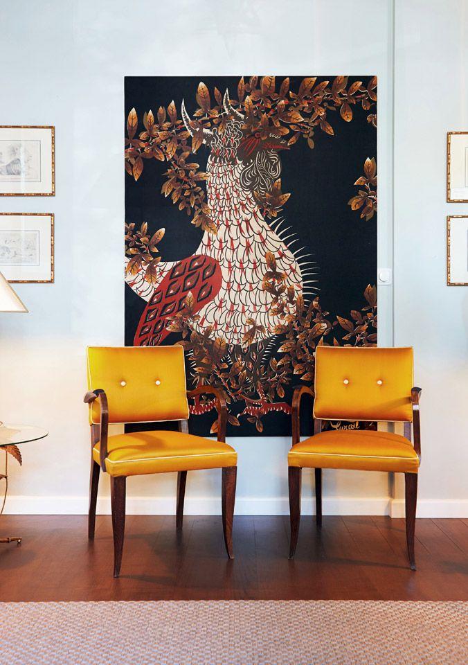French art deco bridge chairs 1942 set of 2
