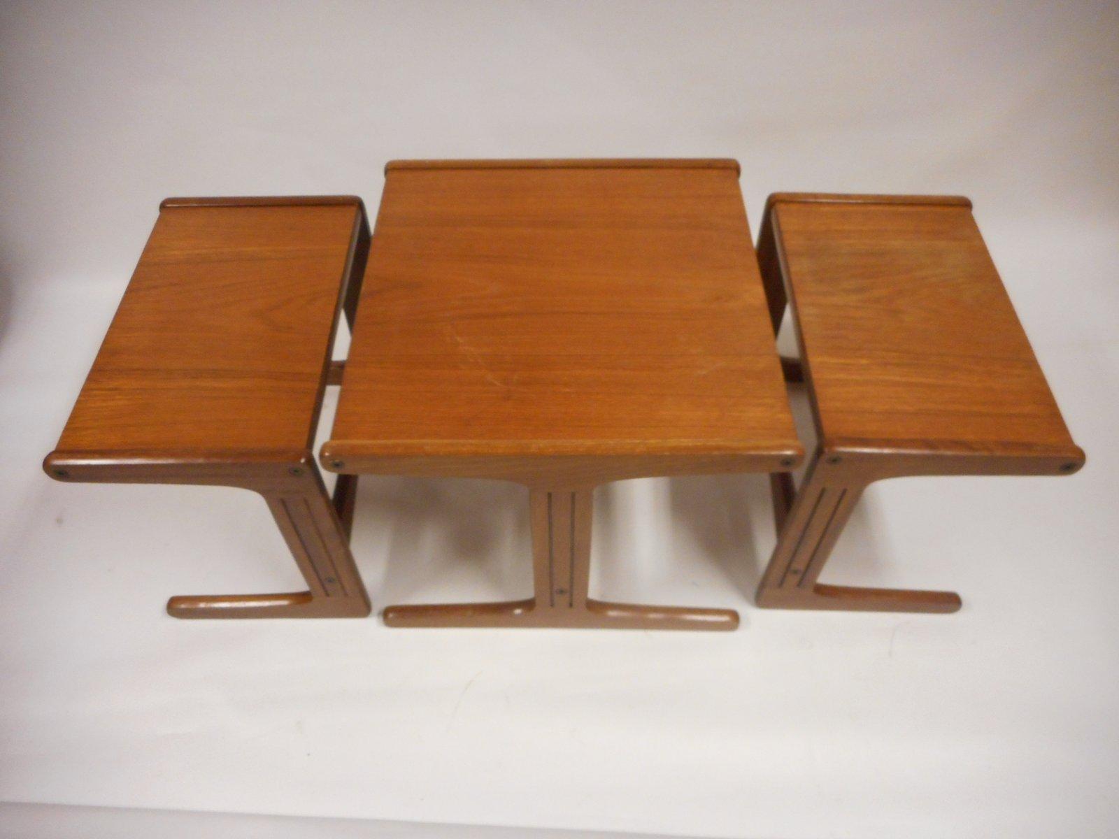 satztische im nordischen stil 1960er bei pamono kaufen. Black Bedroom Furniture Sets. Home Design Ideas